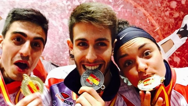 Medallas del Taekwondo en el Open de España 2015