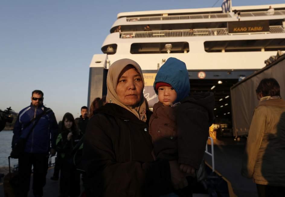 Crisis migratoria en Grecia