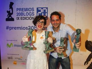 Paula Bornachea y Toni Jardón