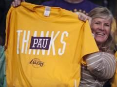Afinicionada Lakers