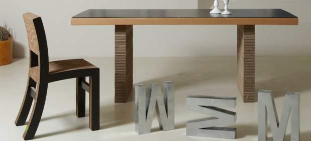 Muebles de cartón: una alternativa que nada tiene que envidiar a los de madera