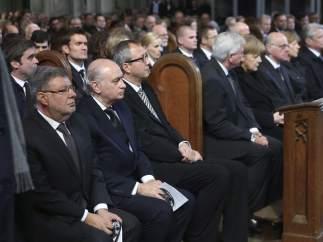 Funeral por la tragedia de Germanwings