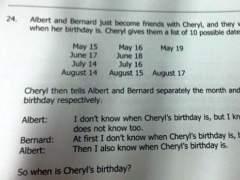 El cumplea�os de Cheryl