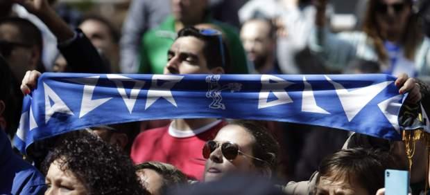 Doscientas personas recuerdan en Riazor al ultra del Deportivo fallecido en Madrid