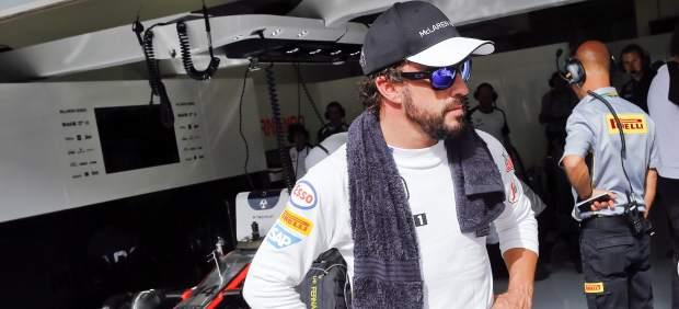 """Alonso: """"Es triste estar contento por pasar a la Q2, pero hacía falta para el todo el equipo"""""""