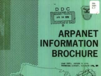 As� era el manual de instrucciones de todo Internet hace unos 40 a�os