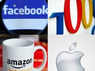 Logos de gigantes tecnol�gicos