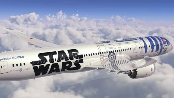 El Boeing 'Star Wars' de All Nippon Airways