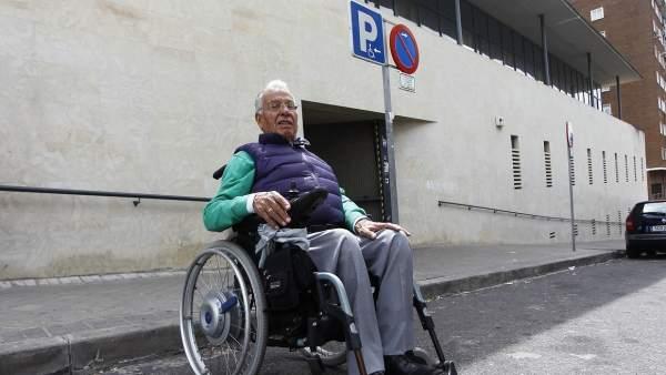 Testimonio aparcamiento discapacitados