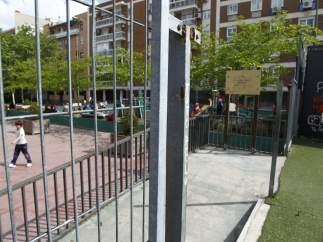 Parque infantil Chamberí