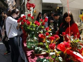 Sant Jordi, en Lleida