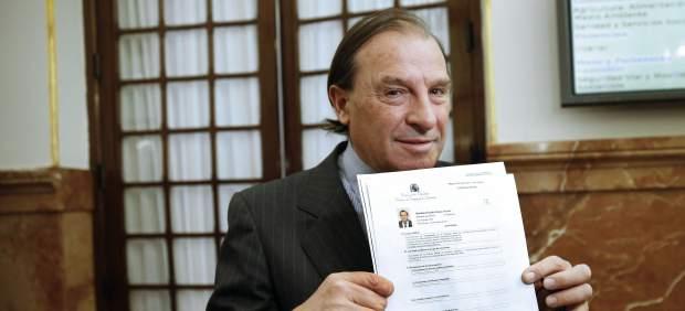 Vicente Martínez Pujalte es acusado por la Fiscalía de falsedad y cohecho