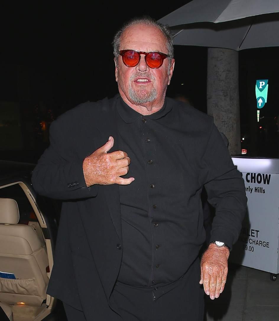 Lorraine, el gran apoyo de un Jack Nicholson desmejorado y ... Jared Leto Joker