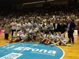 El Spar Citylift Girona, campeón de la Liga Femenina