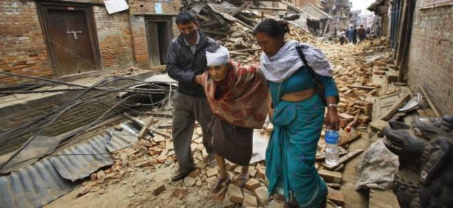 Heridos en el terremoto