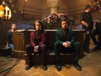 Daniel Radcliffe y James McAvoy