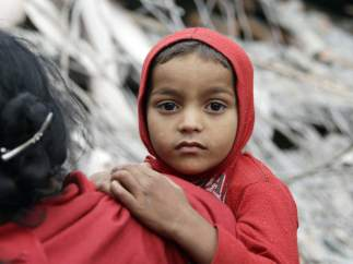 Los niños, grandes víctimas del terremoto