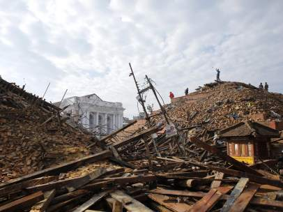 Ruinas en Katmand�