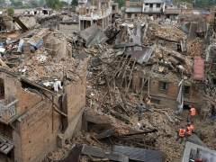 Da�os tras el terremoto de Nepal