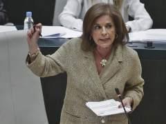 Ana Botella durante su último pleno municipal antes de las elecciones.