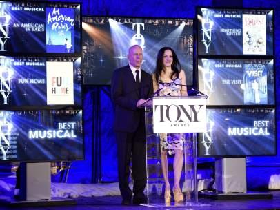 Anuncio de las nominaciones de los premios Tony 2015