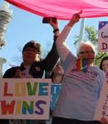 Opiniones a favor y en contra sobre el matrimonio homosexual frente al Tribunal Supremo de EE UU