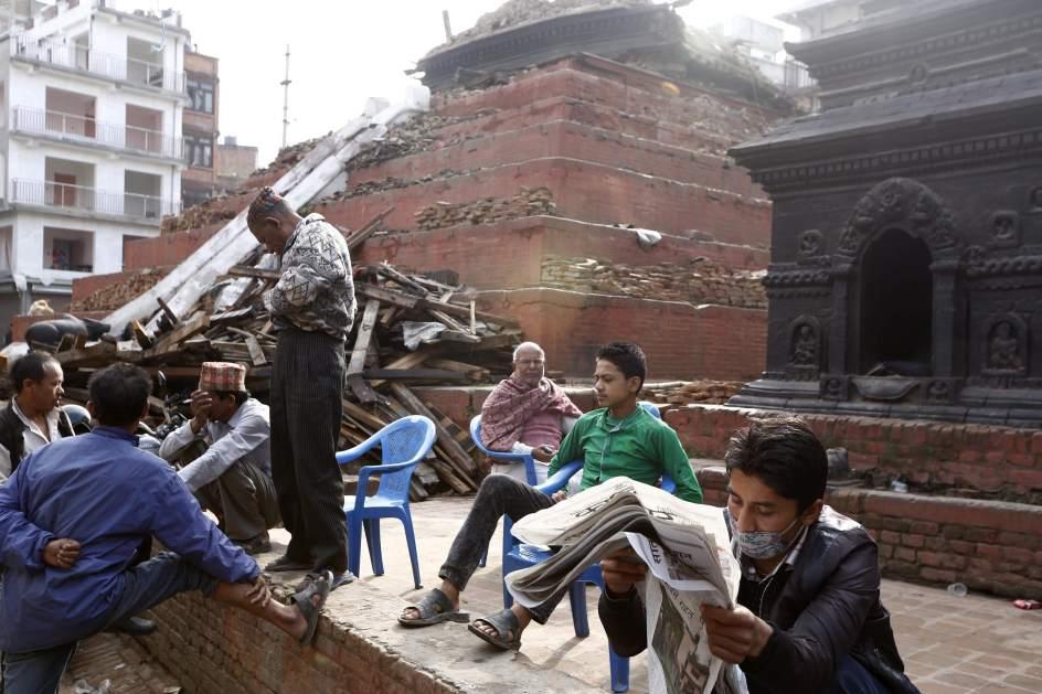 Intento de vuelta a la normalidad en Nepal