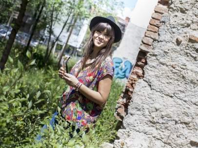 La cantante Vanesa Martín