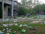 Im�genes del campus universitario de la UCM tras San Cemento