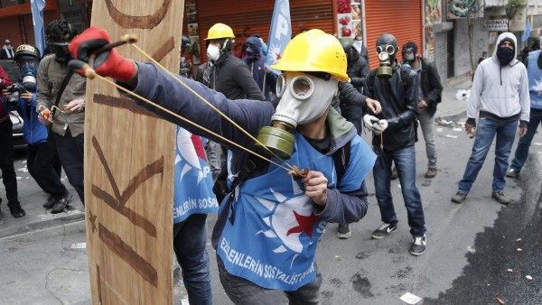 1 de Mayo en Estambul