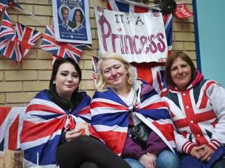 Apoyo de los londinenses