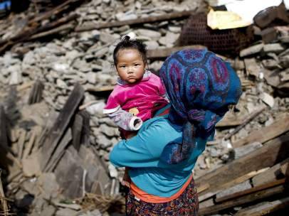 Infancia en Nepal