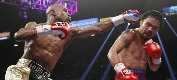 Mayweather vuelve al ring para pelear con Pacquiao