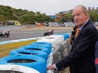 El rey Juan Carlos, en Jerez