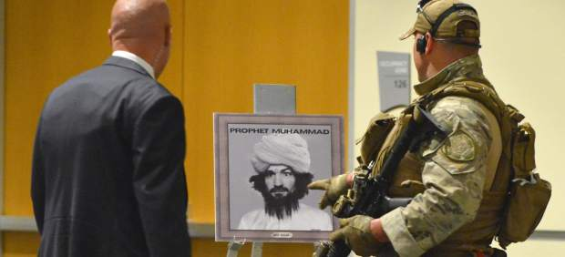 Tiroteo en una exposición de caricaturas de Mahoma en Texas