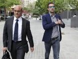 Gabi llega a los juzgados para declarar