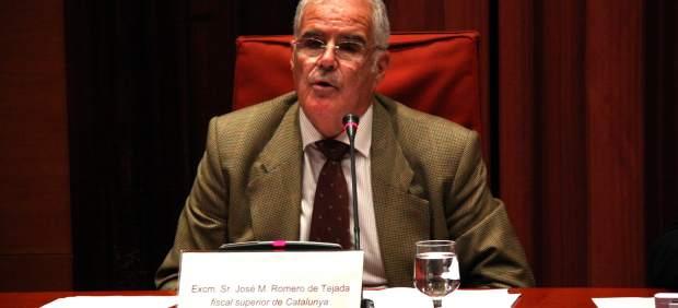 Fiscal Jefe de Cataluña, José María Romero de Tejada.
