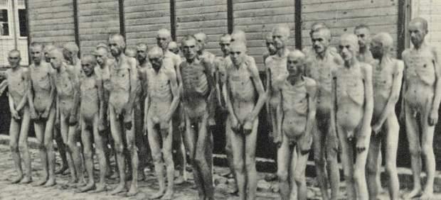 Prisioneros en Mauthausen