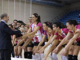 Naturhouse Ciudad de Logroño, campeón de la Superliga femenina de voleibol