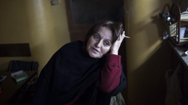 Heriknaz Galstyan in her home