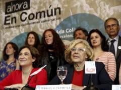 Los votantes aprueban a Carmena y Colau y suspenden a Cifuentes