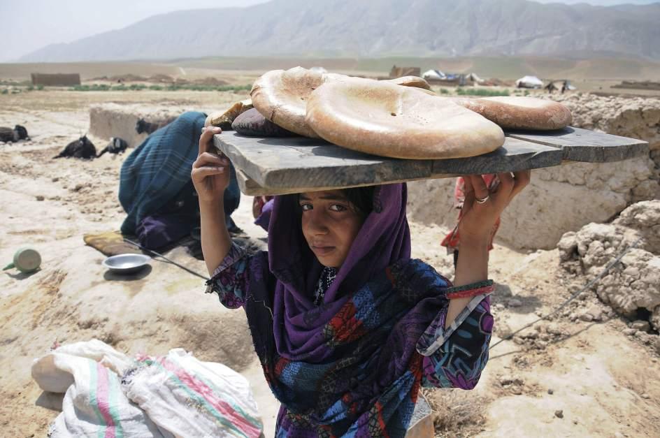 Nuevos desplazados en Afganistán