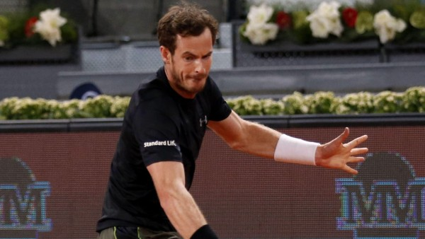 Andy Murray, en Madrid