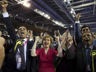 Victoria escocesa en las elecciones británicas