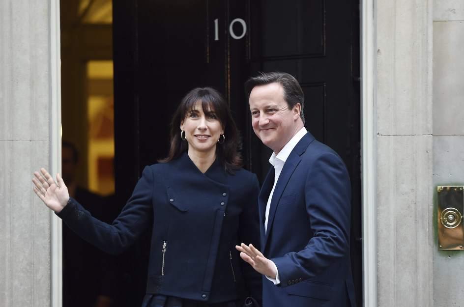 Cameron se queda en el 10 de Downing Street