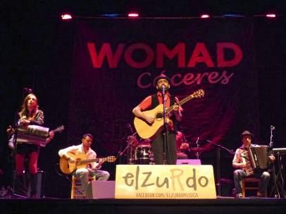 El Zurdo en WOMAD Cáceres 2015