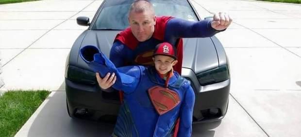 Un policía de Dallas, un superhéroe