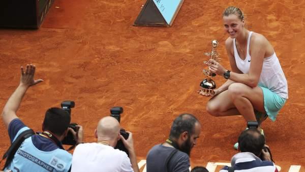 Kvitova gana en Madrid