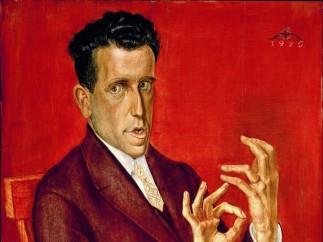 Otto Dix - Portait of the Lawyer Hugo Simons, 1925