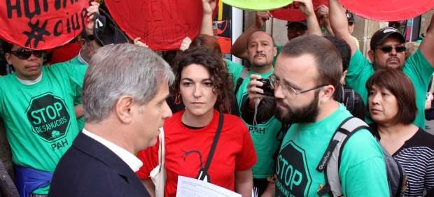 La PAH convoca un escrache en el Supremo el miércoles contra la revisión del impuesto de las ...